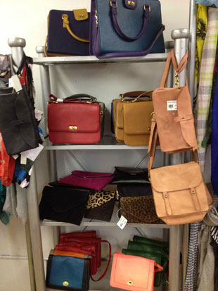 J.Crew Tilary purse in a rainbow of colors ($80, orig. $148)