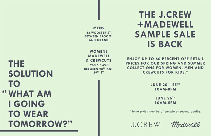 Madewell » New York Bargains