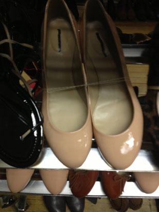 J.Crew flats ($65), boots ($100) and heels ($100) .