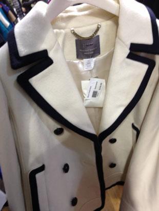 J.Crew Tuxedo Style Peacoat ($150, Size 10)