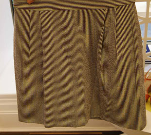 Jack Rogers Pleat Front Skirt ($122.50, orig. $245)