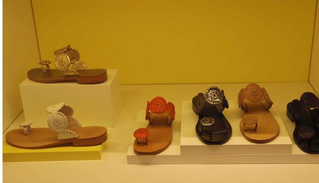 Jack Rogers Santa Fe Sandal in six different colors ($110, orig. $158)