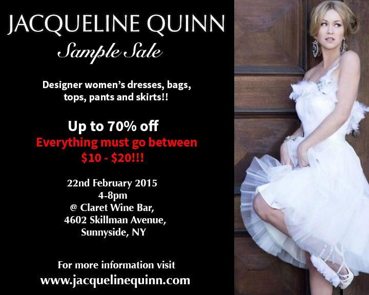 Sample Sale Wedding Dresses Nyc 51 Vintage Jacqueline Quinn Designer Sample