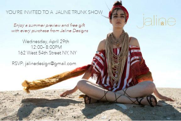 Jaline Trunk Show