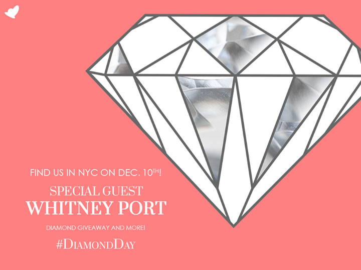 James Allen #DiamondDay with Whitney Port