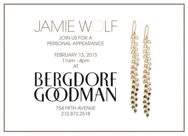 Jamie Wolf Personal Appearance at Bergdorf Goodman