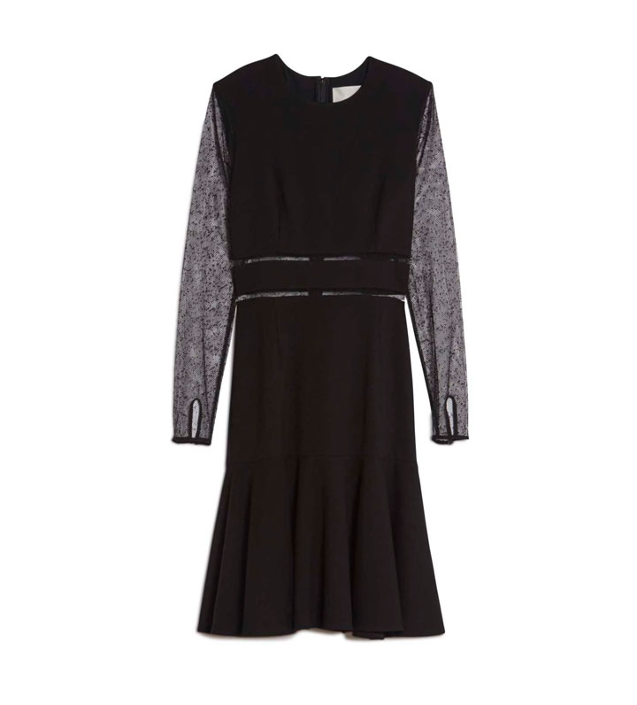 Jason Wu Lace Sleeve Dress, WAS $1595 NOW $400