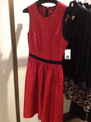 Jason Wu Red Lace Dress ($1,107)