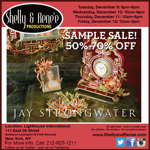 Jay Strongwater Sample Sale