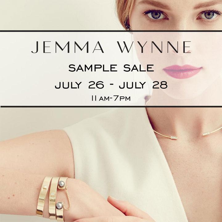 Jemma Wynne Sample Sale