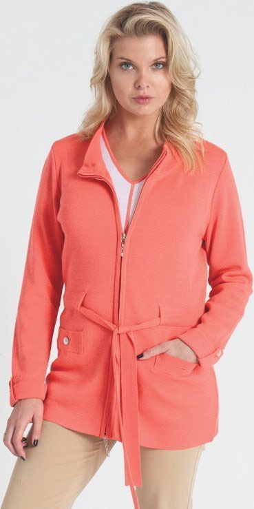 Jennifer Tyler Belted Military style cashmere jacket with Italian Milano stitch: $250 (orig. $495)