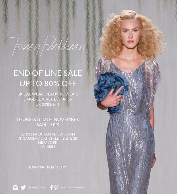 Jenny Packham End of Line Sale
