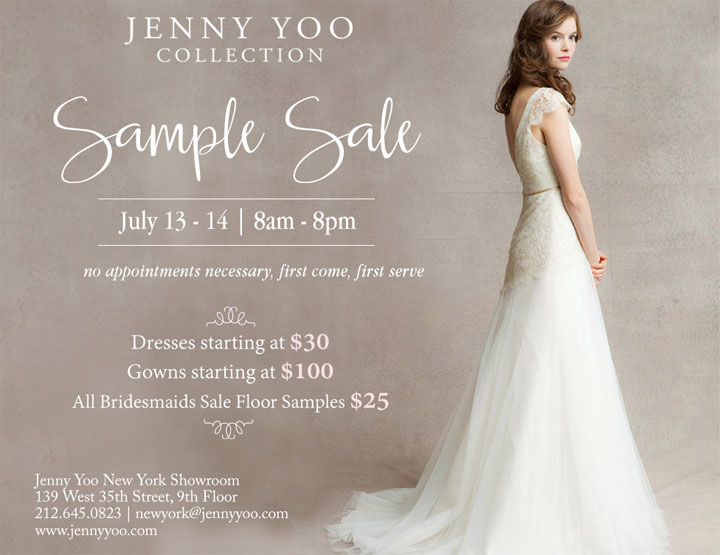 Jenny Yoo Sample Sale