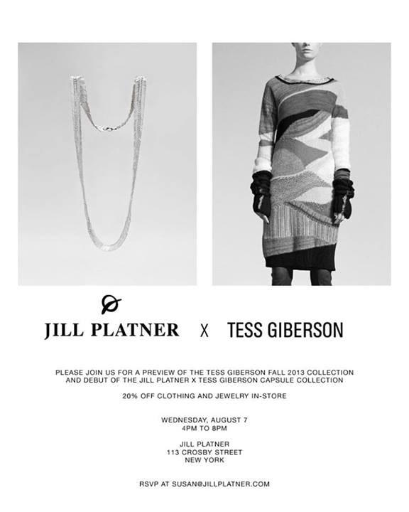 Jill Platner X Tess Giberson Trunk Show