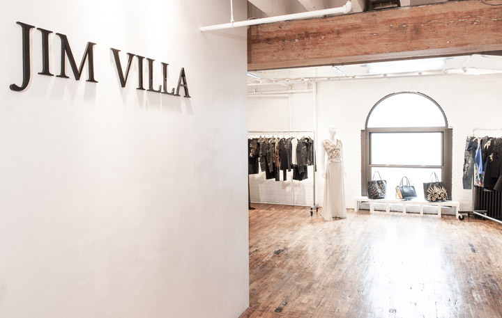 The Jim Villa Showroom May 2016 Sample Sale
