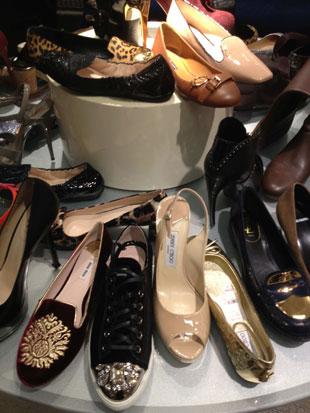 Jimmy Choo Shoes at Saks Designer Sale