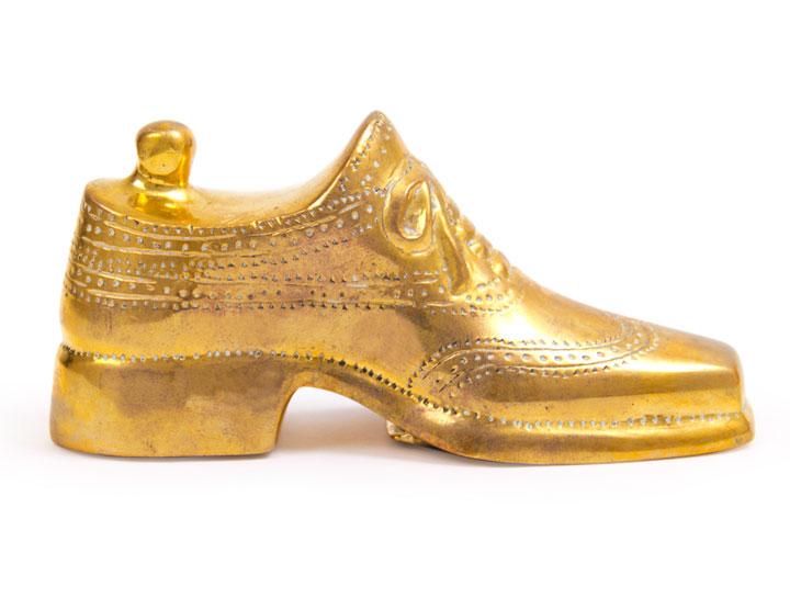 Jonathan Adler Brass Shoe Bottle Opener was $98 now $40
