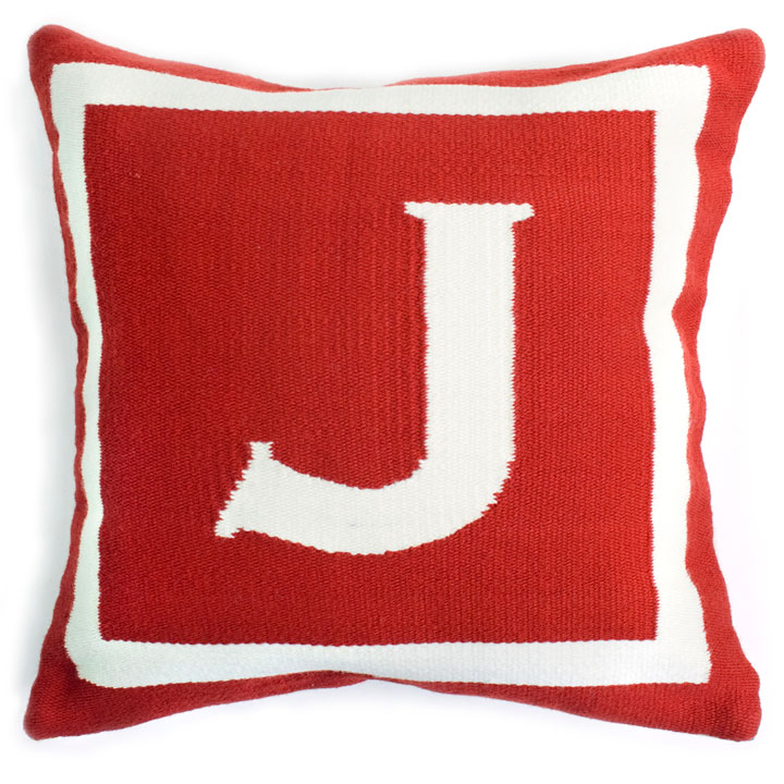 Jonathan Adler Letter Pillow: was $125 now $25