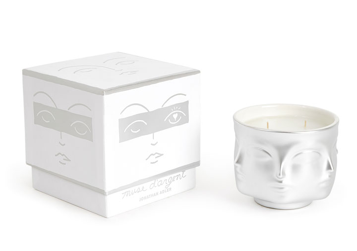 Jonathan Adler Muse D'Argent Candle; was $88 now $30