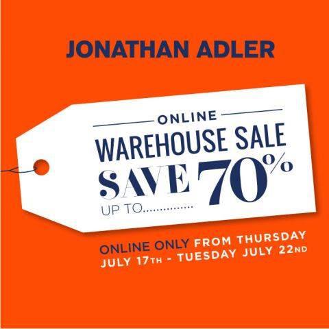 Jonathan Adler Online Warehouse Sale
