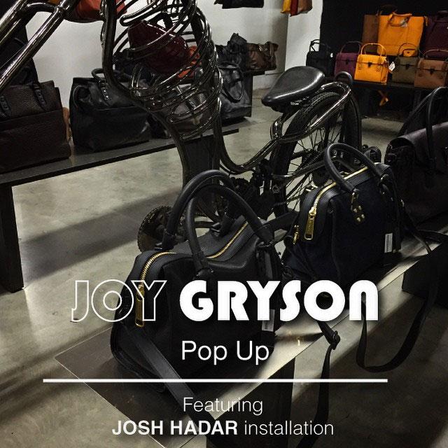 Joy Gryson Pop-up Shop