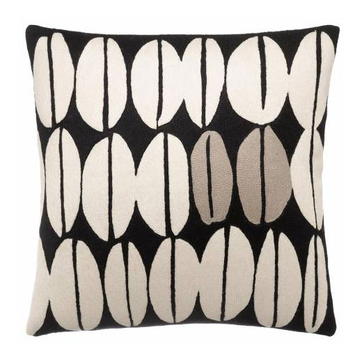 Seeds hand-embroidered pillows (18