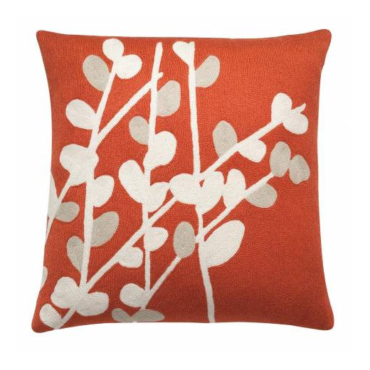 Spray hand-embroidered pillows (18
