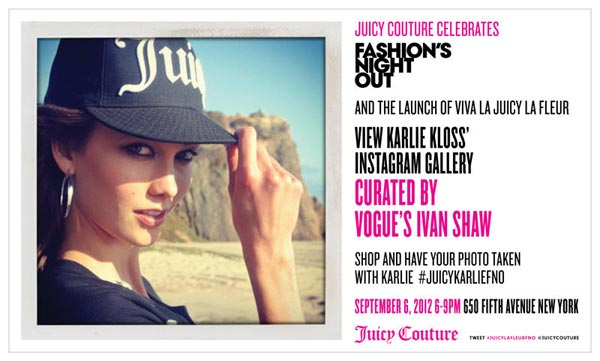 Juicy Couture Fashion's Night Out Event