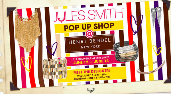 Jules Smith Pop Up Shop @ Henri Bendel