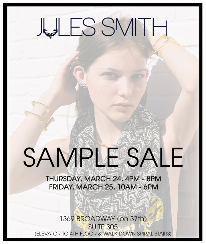 Jules Smith Sample Sale