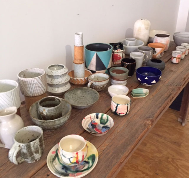 Jumelle Pop-up Sample Sale Ceramics