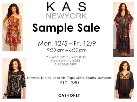 KAS New York Sample Sale