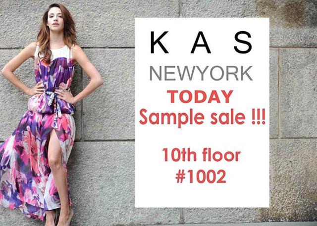 KAS New York Sample Sale