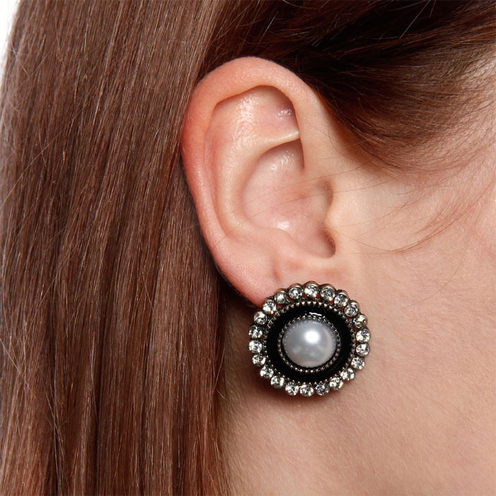 KC Signatures Classic Faux Pearl Earring Studs. Original Price - $24.99. Sale Price - $5 (80% off)