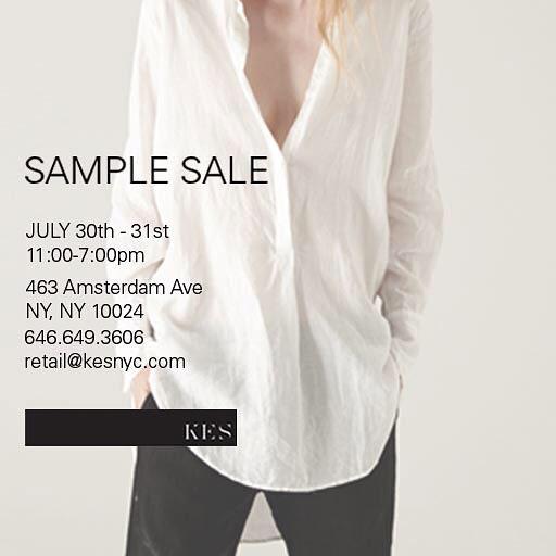 KES Sample sale