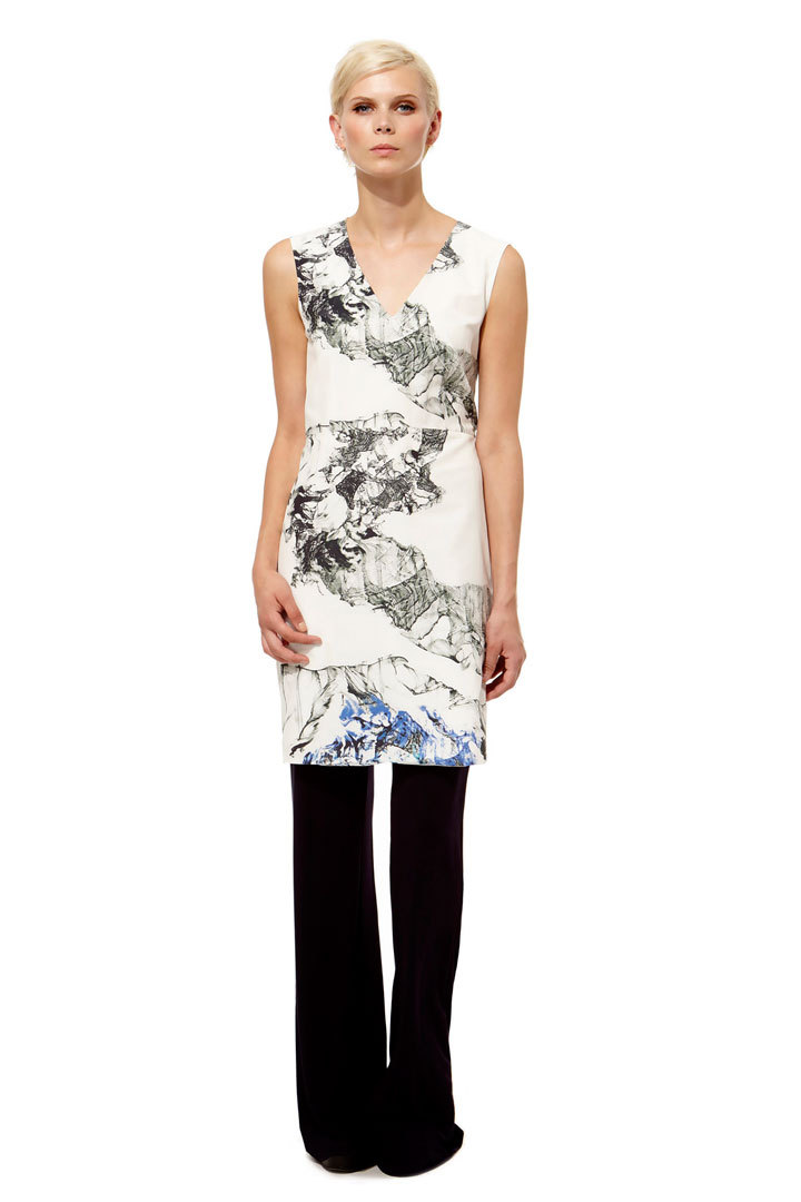 Kal Reiman Marble Zip Dress: $95 (orig. $455)