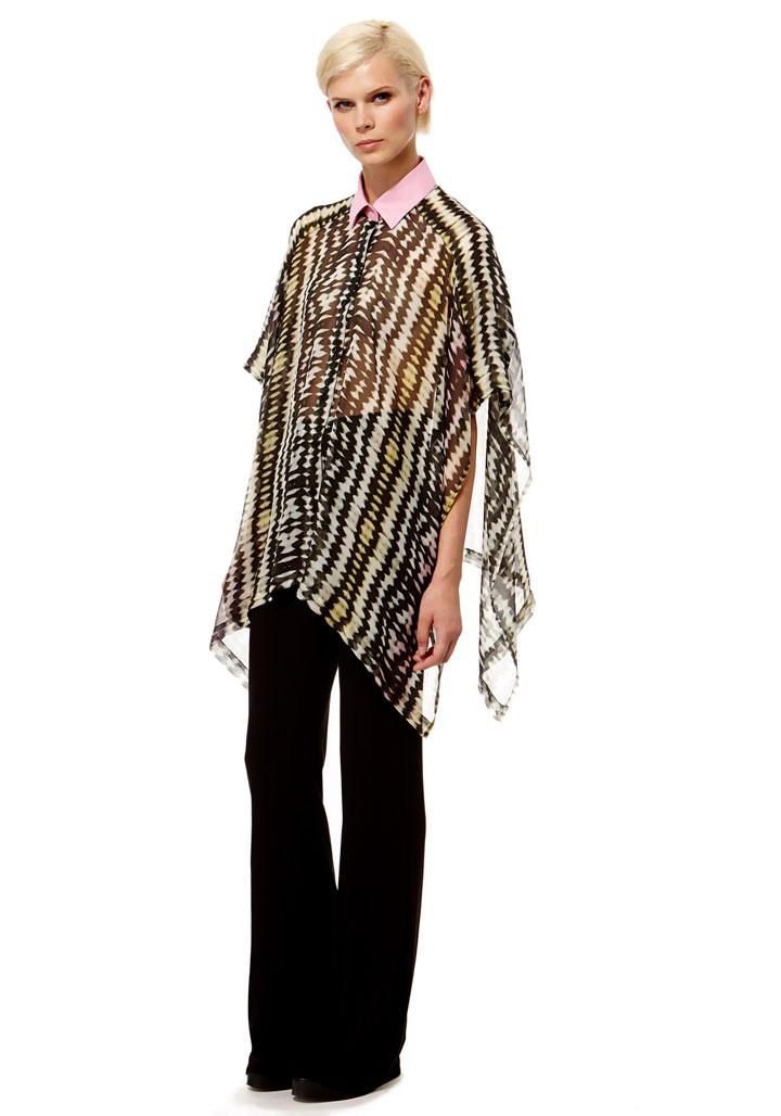 Kal Reiman Harlequin Poncho: $125 (orig. $455)