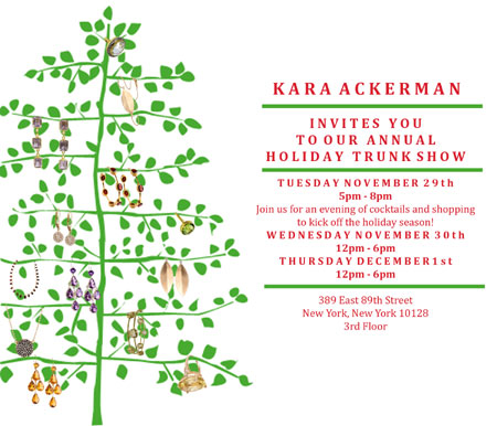 Kara Ackerman Holiday Trunk Show