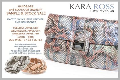Kara Ross Sample Sale