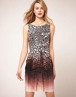 Karen Millen Animal Print Dress $99 (orig. $200)