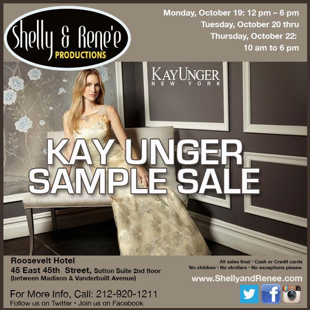 Kay Unger Sample Sale