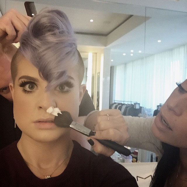 11 Celeb Instagram Accounts to Take Your Beauty Cues FromKelly Osbourne Instagram