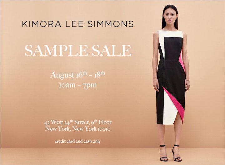 Kimora Lee Simmons Sample Sale