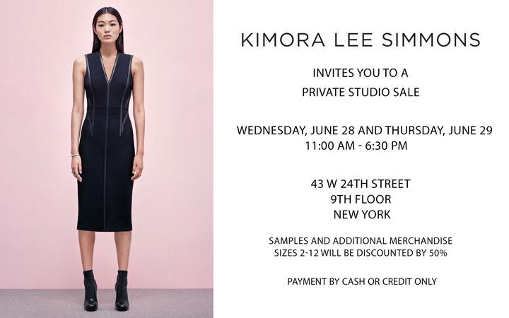 Kimora Lee Simmons Private Studio Sale