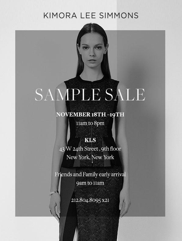 Kimora Lee Simmons Clothing New York Sample Sale