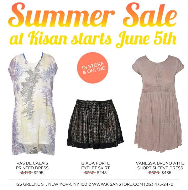 Kisan Summer Sale