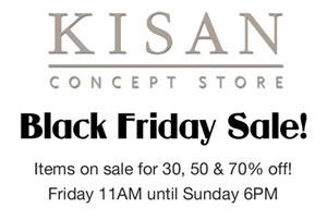 Kisan Black Friday Sale