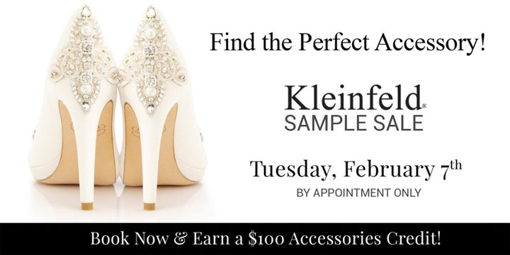 Kleinfeld Accessories Sample Sale