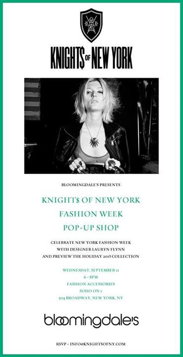 Knight$ of New York Pop-up Shop