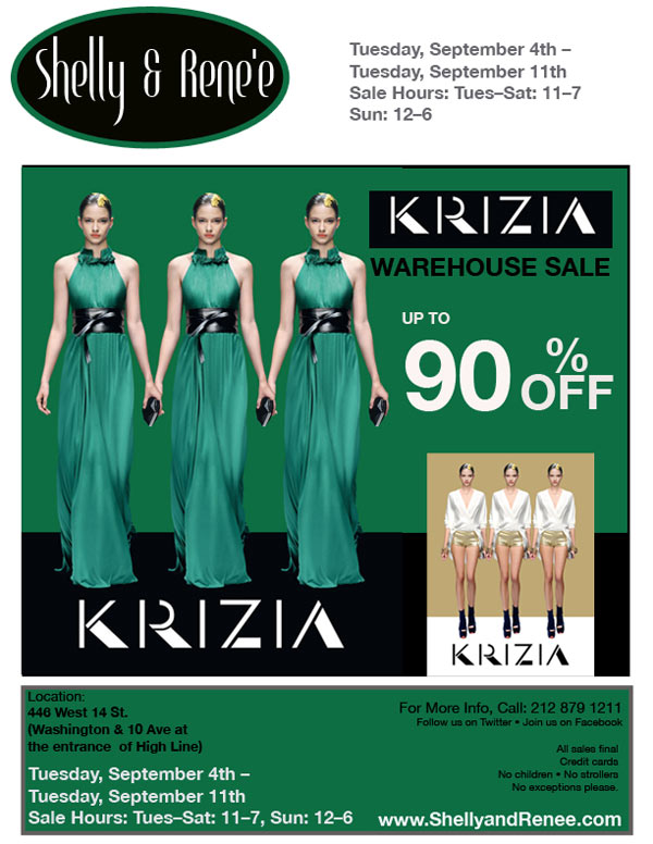 KRIZIA Warehouse Sale